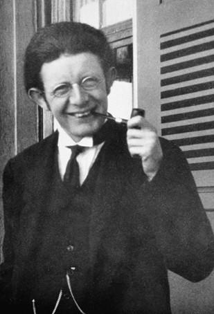 Jean Piaget dans les années vingt.