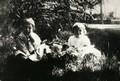 En 1901, dans le jardin des Poudrières