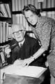 Jean Piaget et Bärbel Inhelder en 1968